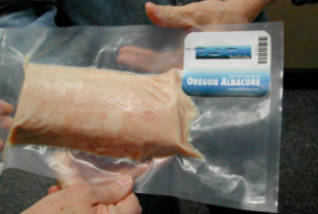 Package of PFX-branded Albacore
